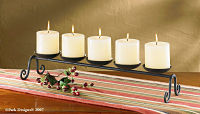 Five Candle Centerpiece