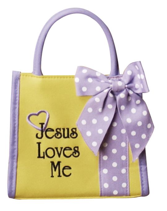 Jesus Loves Me Tote