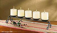 5 Candle Centerpiece