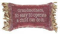 Grandmother's Are So EASY Word-Pillow