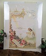 Antique Repro Baptismal Certificate